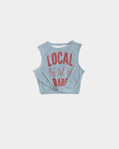 Pure Local Beach Babe Women's Twist-Front Tank