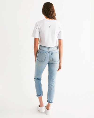 Jagflower Women's Cropped Tee