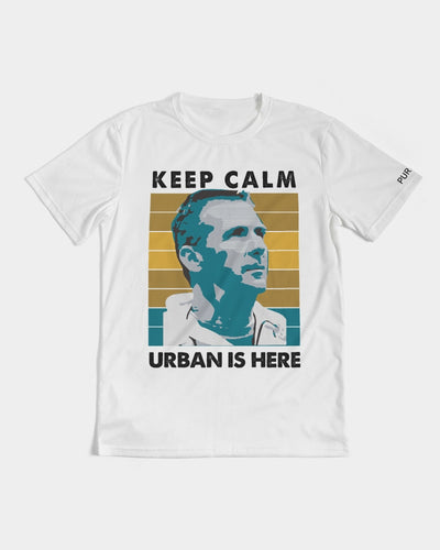 Keep Calm Urban Is Here Men's Tee