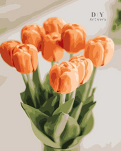 Load image into Gallery viewer, Time for Tulips- Paint by Number Kit