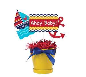Ahoy Matey! Centerpiece Sticks - Pack of 18 Count