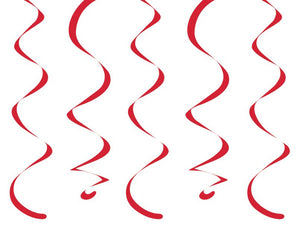 "Classic Red Dizzy Danglers, 18"" - Pack of 60 Count"