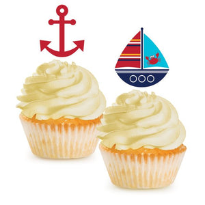 Ahoy Matey! Cupcake Topper - Pack of 144 Count