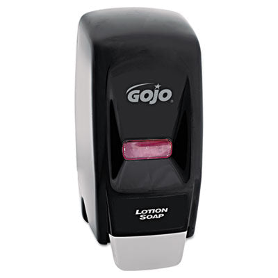 GOJO® Bag-in-Box 800-ML Dispenser, 5-3/4w x 5-1/2d x 11-1/8h, Black - Pack of 1 Count