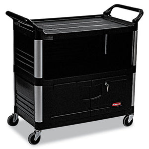Rubbermaid® Commercial Xtra Equipment Cart, 300lb Cap, 3-Shelf - Pack of 1 Count