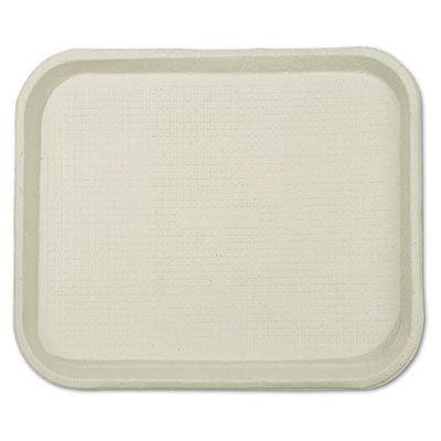 Chinet® Savaday Molded Fiber Food Trays, 9 x 12 x 1 - Pack of 250 Count