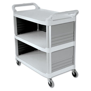 Rubbermaid® Commercial Xtra™ Utility Cart, 300-lb Cap., 20w x 40d 5/8 x 37 4/5h - Pack of 1 Count