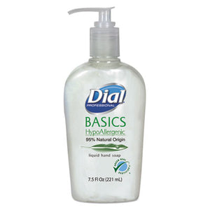 Dial® Professional Basics Liquid Hand Soap, 7.5oz, Rosemary & Mint - Pack of 12 Count