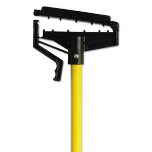 "O-Cedar® Quick-Change Mop Handle, 60"", Fiberglass, Yellow - Pack of 6 Count"