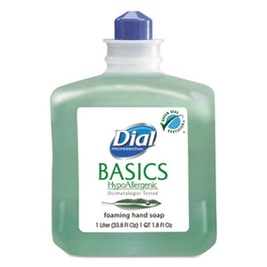 Dial® Basics Foaming Hand Soap Refill, Honeysuckle - Pack of 6 Count
