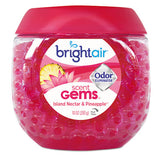 BRIGHT Air®Scent Gems Odor Eliminator, Island Nectar - Pack of 6 Count
