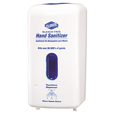 Clorox®No-Touch Hand Sanitizer Dispenser, Adjustable Sensor - Pack of 4 Count