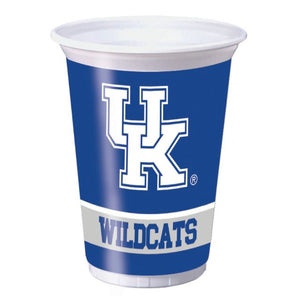University of Kentucky Plastic Cups, 20 Oz - Pack of 96 Count