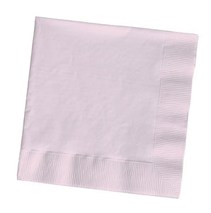 Classic Pink Lunch Napkins, 3-Ply - Pack of 500 Count