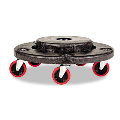 Rubbermaid® Commercial Brute Quiet Dolly, 250lb Cap, 18 x 6 - Pack of 1 Count