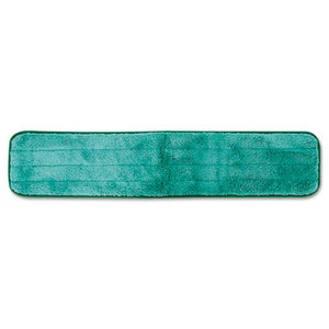 "Rubbermaid® Commercial Microfiber Dry Hall Dusting Pad, 24"", Green - Pack of 12 Count"