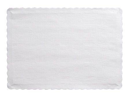 White Paper Placemats, 9.5 X 13.375 - Pack of 600 Count