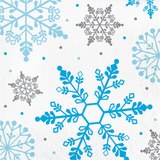 WINTER SNOWFLAKE NAPKINS - Pack of 432 Count