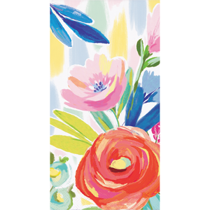 BRUSHED FLORALS GUEST TOWELS - Pack of 192 Count