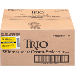 Trio White Sauce & Cream-Style Soup Mix - 16oz - Pack of 8 Count