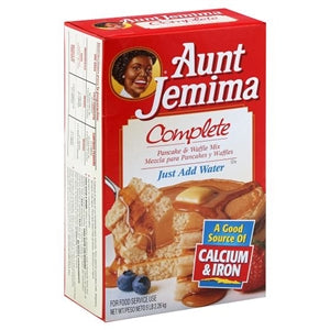 Aunt Jemima Complete Pancake Mix 5lb. - Pack of 6 Count