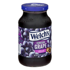 Welch's Grape Jelly 18oz. - Pack of 12 Count