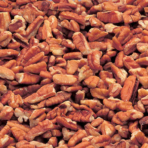 Azar Nut Large Fancy Raw Pecan Pieces 2lb. - Pack of 3 Count