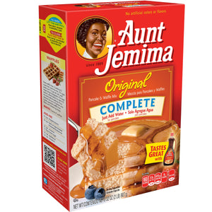 Aunt Jemima Complete Pancake Mix 2lb. - Pack of 12 Count