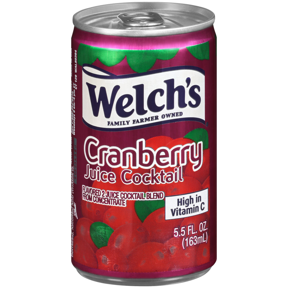 Welch's Cranberry Juice Cocktail 5.5oz. - Pack of 48 Count