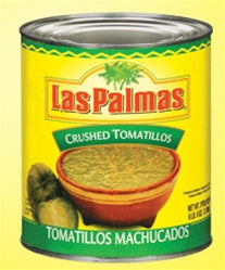 Las Palmas Crushed Tomatillos - 100oz - Pack of 6 Count