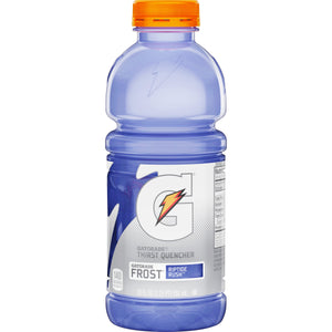 Gatorade Thirst Quencher Frost Riptide Rush 20oz. - Pack of 24 Count