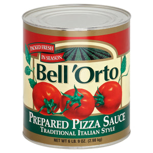 Bell' Orto Pizza Sauce - 105oz - Pack of 6 Count