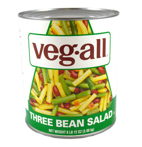 Veg-All 3 Bean Salad - 108oz - Pack of 6 Count