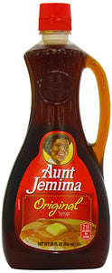 Aunt Jemima Original Syrup 24oz. - Pack of 12 Count
