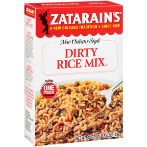 Zatarain's New Orleans Style Dirty Rice Seasoning Mix - 40 oz - Pack of 8 Count