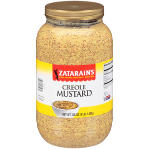 Zatarain's Creole Mustard 128oz. - Pack of 4 Count