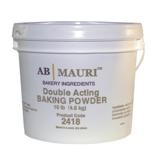 Ab Mauri Benchmate Double Acting Baking Powder 10lb. - Pack of 4 Count