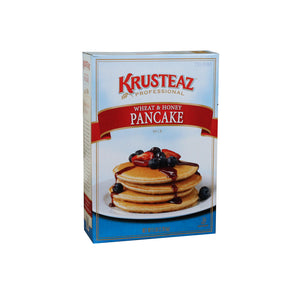 Krusteaz Pro Wheat & Honey Pancake Mix 5lb. - Pack of 6 Count