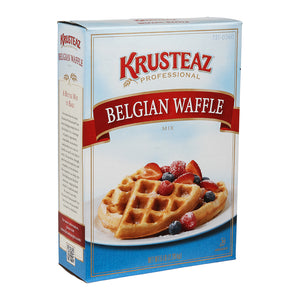Krusteaz Professional Belgian Waffle Mix 5lb. - Pack of 6 Count