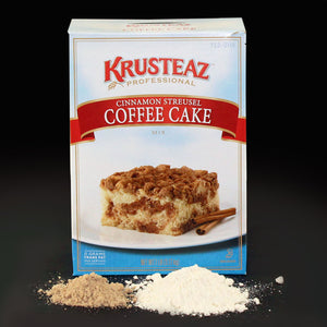Krusteaz Professional Cinnamon Streusel Coffee Cake Mix 7lb. - Pack of 6 Count