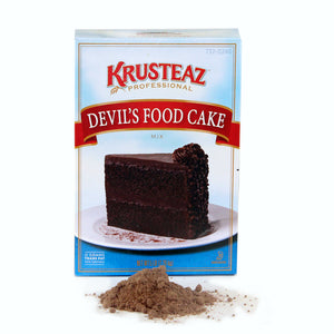 Krusteaz Professional Devil's Food Cake Mix 5lb. - Pack of 6 Count