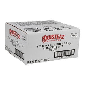 Krusteaz Fish & Chip Batter Mix 25lb. - Pack of 1 Count