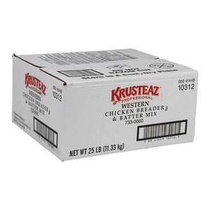 Krusteaz Western Style Chicken Breading 25lb. - Pack of 1 Count