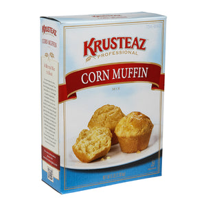 Krusteaz Professional Corn Muffin Mix 5lb. - Pack of 6 Count