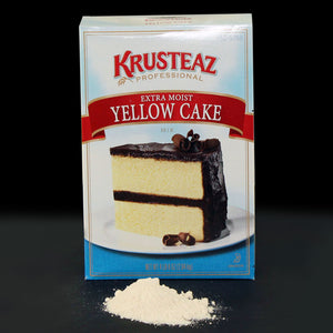 Krusteaz Professional Extra Moist Yellow Cake Mix 4.5lb - Pack of 6 Count