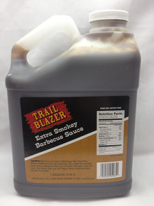 Trail Blazer Extra Smokey Barbecue Sauce - 1gal - Pack of 4 Count