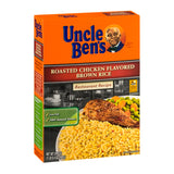 Uncle Ben's Roasted Chicken Flavored Brown Rice - 24.4 oz - Pack of 6 Count