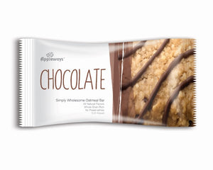 Appleways Chocolate Chip | Soft Oatmeal Bars - 2.4oz - Pack of 160 Count