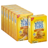 Wheat Thins Snack Crackers, 9.1 oz - Pack of 6 Count