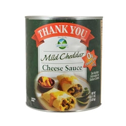 Thank You Mild Cheddar Cheese Sauce - 107oz - Pack of 6 Count